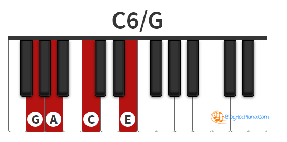 Hp M C6 C6 Chord Piano C 6th Chord Piano C Major 6 Chord Piano