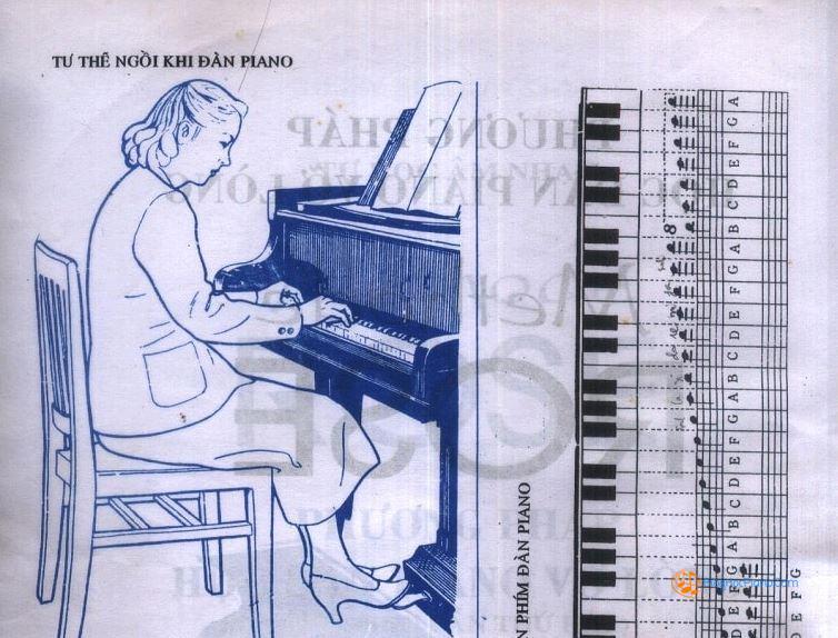 Học piano người ta thường bắt đầu với sách methode rose