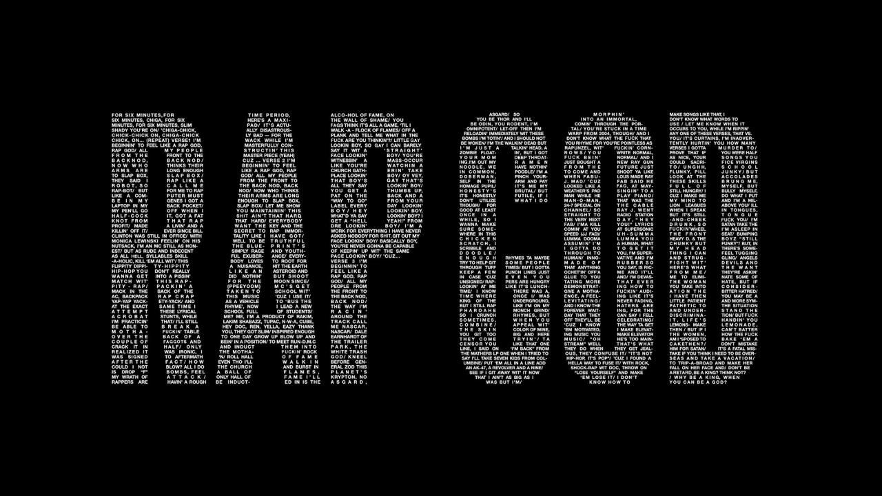 1920x1080 Eminem Rap God wallpaper high resolution