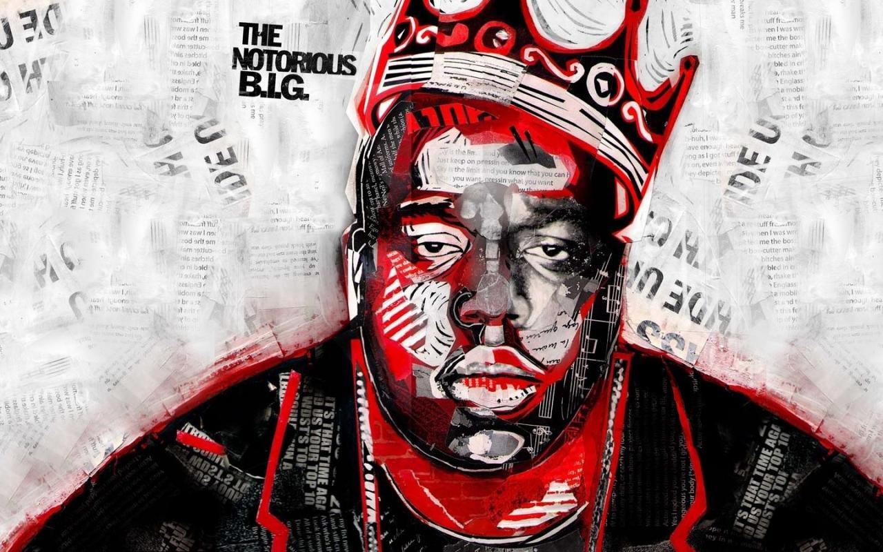 2560x1600 black music hip hop rap notorious big rapper 1600x900 wallpaper Art HD  Wallpaper