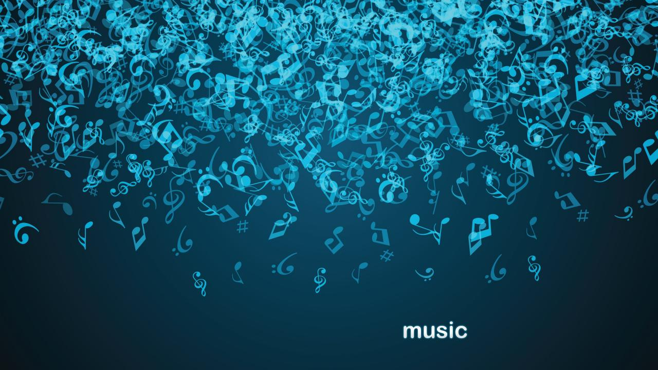 3840x2160 Notes in Music Background