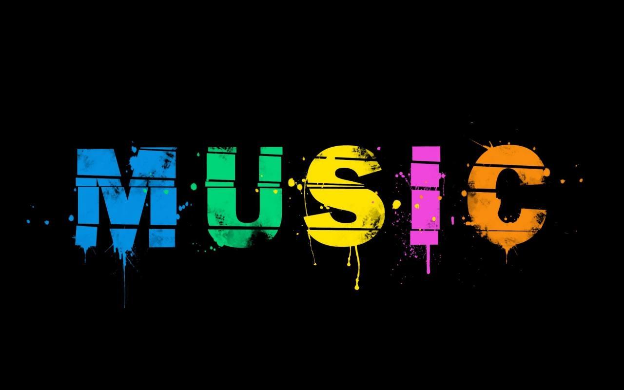1920x1200 minimalism word paint music music background