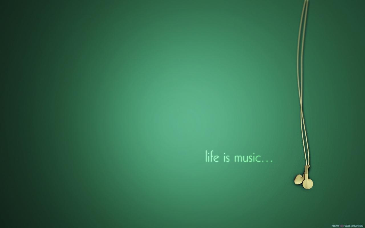 2560x1600 Life Is Music Wallpaper Background