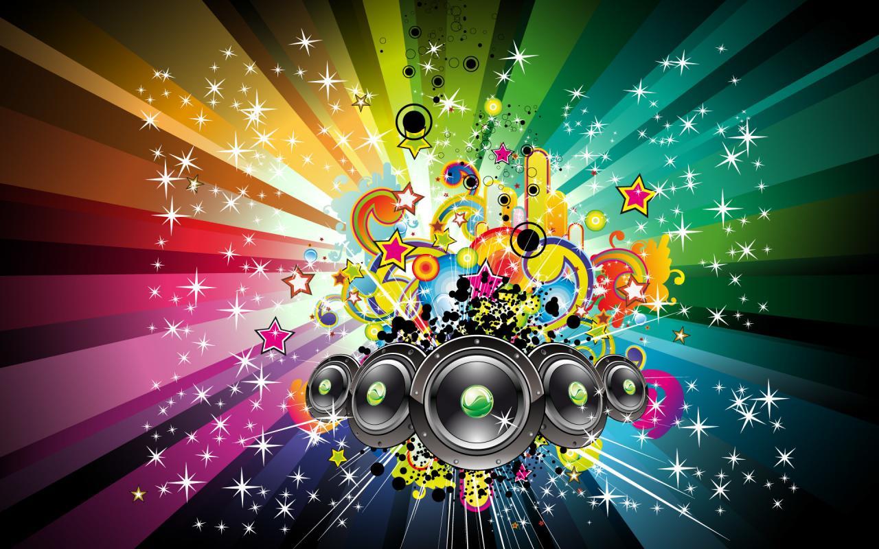 1920x1200 Download Music Background Desktop Colorful Wallpaper   Full HD