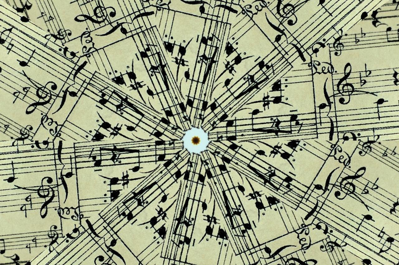 1920x1277 Sheet Music Background
