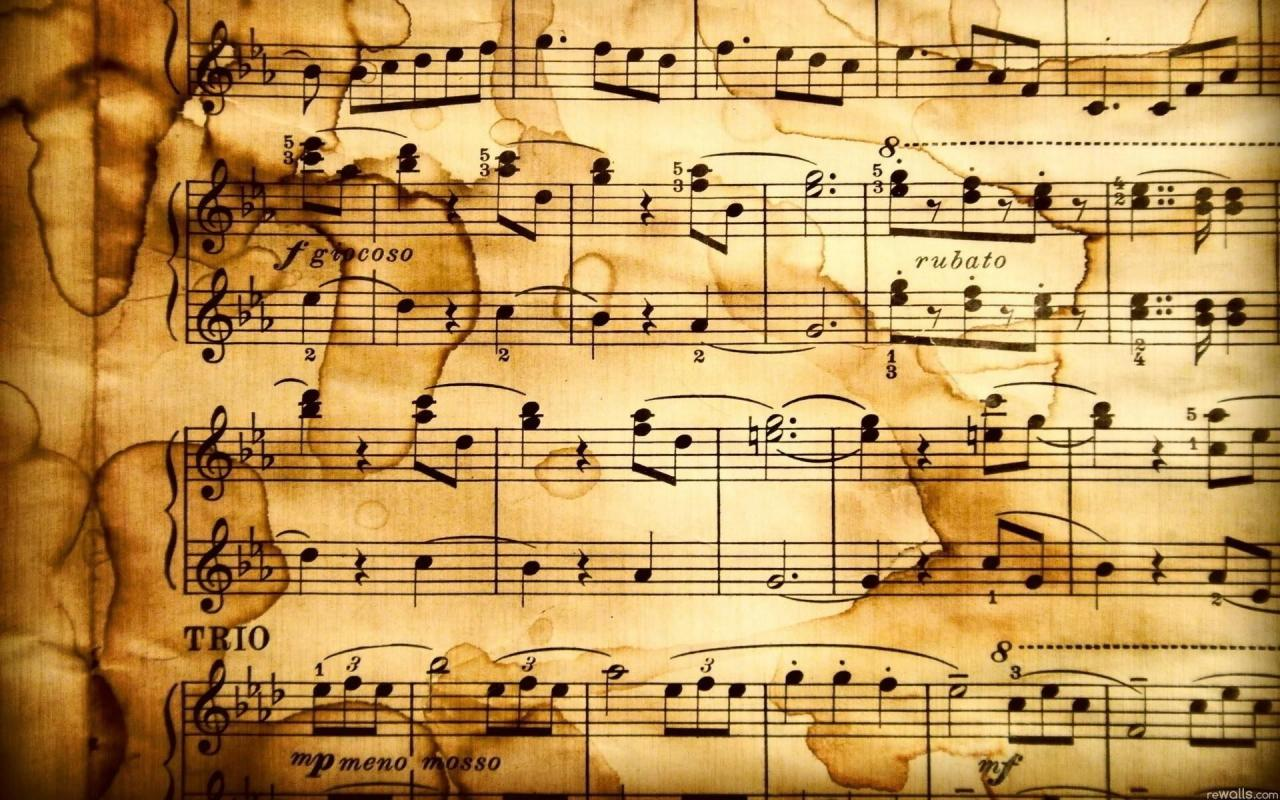 1920x1200 10 Top Old Sheet Music Wallpaper FULL HD 1080p For PC Desktop
