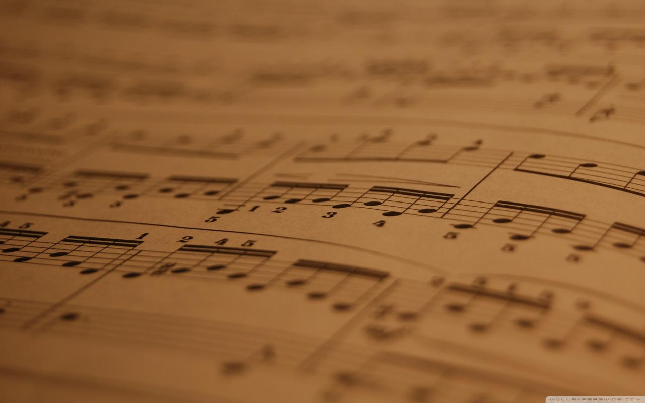 2560x1600 Musical notes flying HD wallpaper