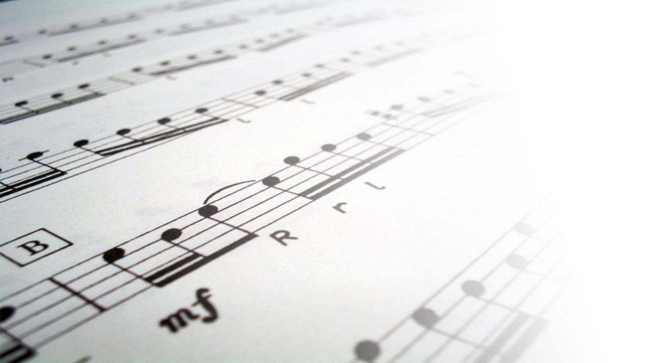1920x1080 sheet music background wallpaper