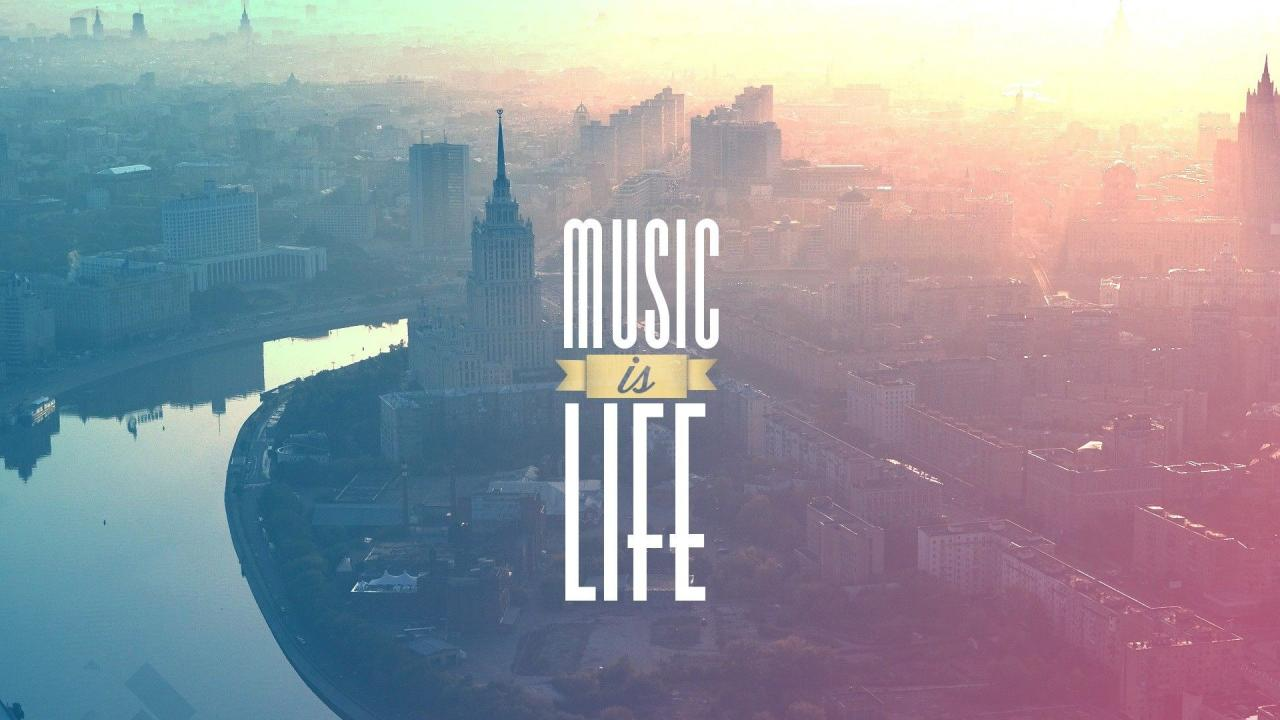 1920x1080 Music is Life Music is Life HD Wallpaper