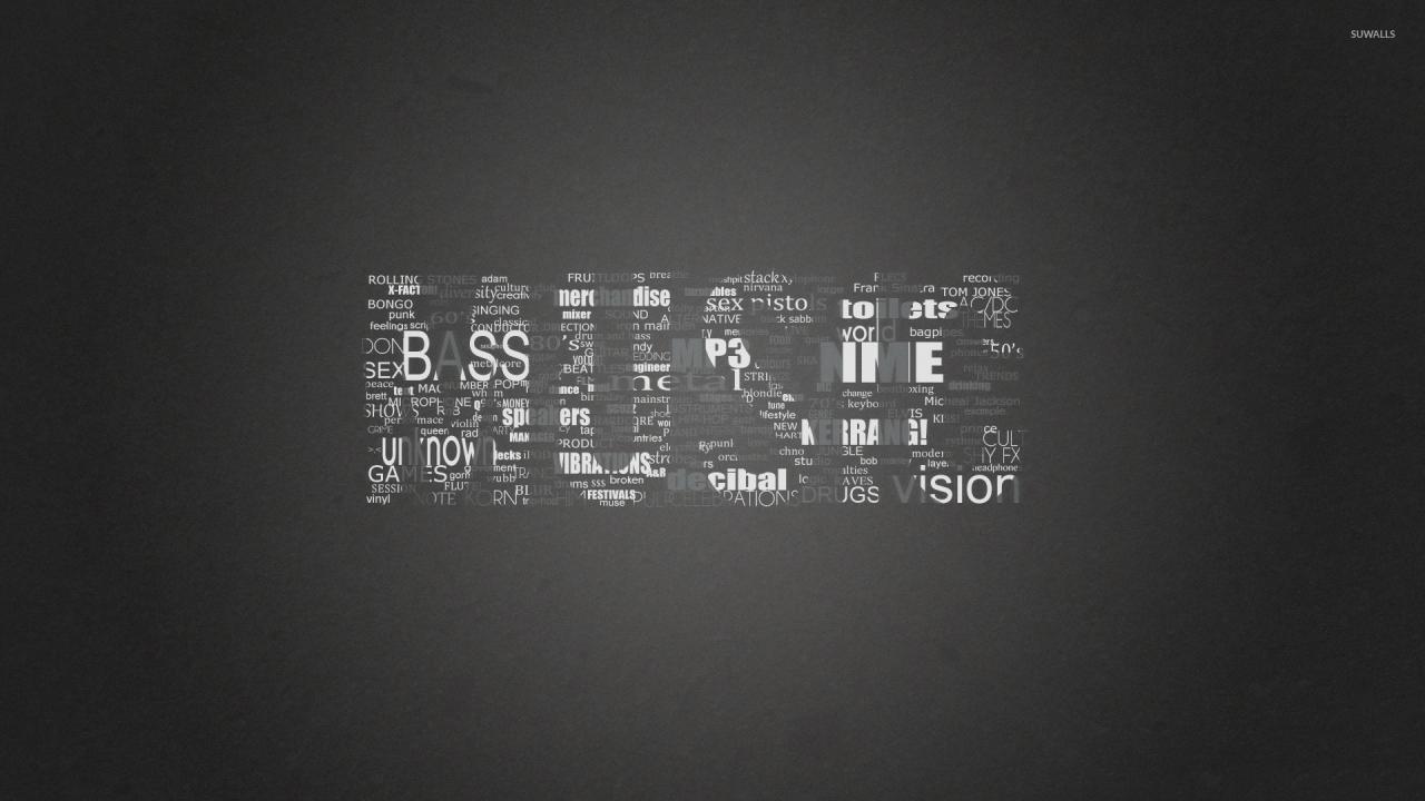 1920x1080 Black and white music genres wallpaper  jpg