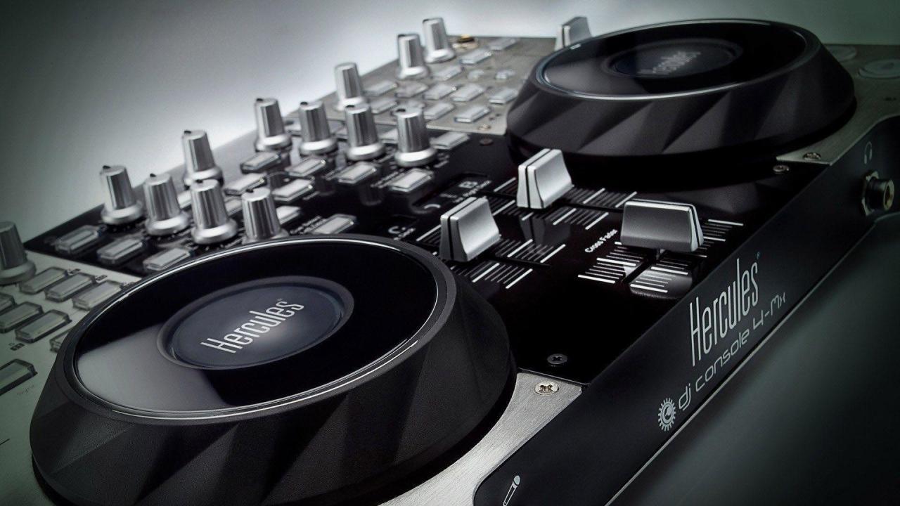 1920x1080  DJ Music Console Full HD Desktop Wallpapers - Large HD Wallpapers