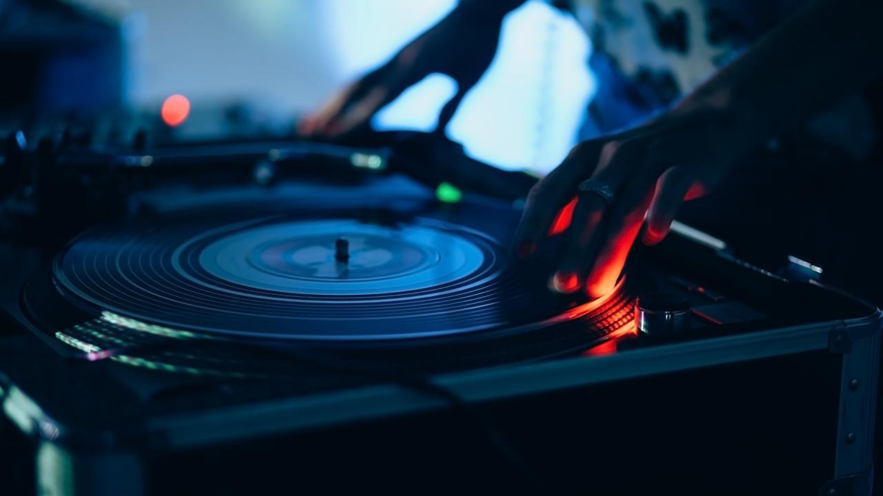 3840x2160 DJ Vinyl Music Mix  4K #51