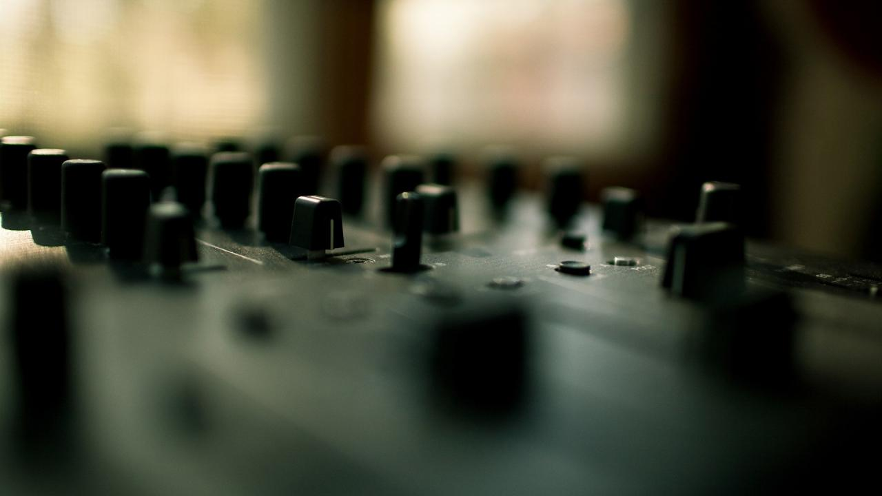 1920x1080 1920x1080 music, House Music, DJ, Mixing Consoles, Buttons Wallpapers HD /  Desktop and Mobile Backgrounds