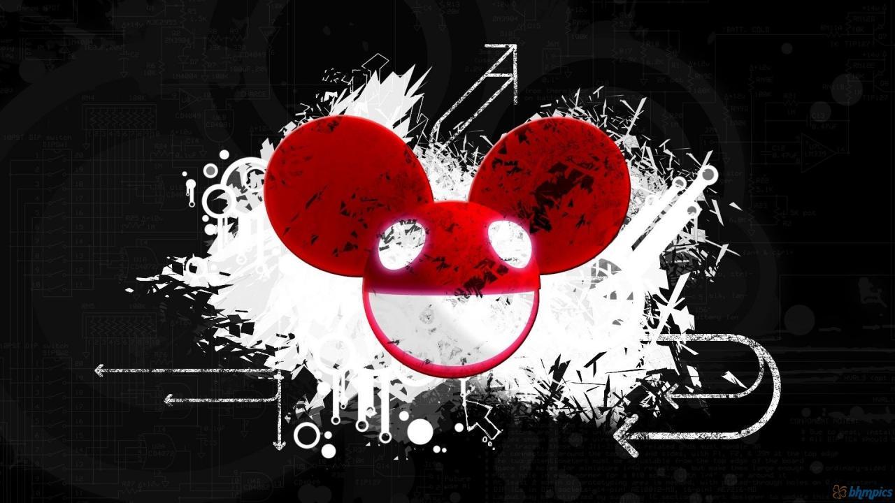 1920x1080 Deadmau5 logo housemusic