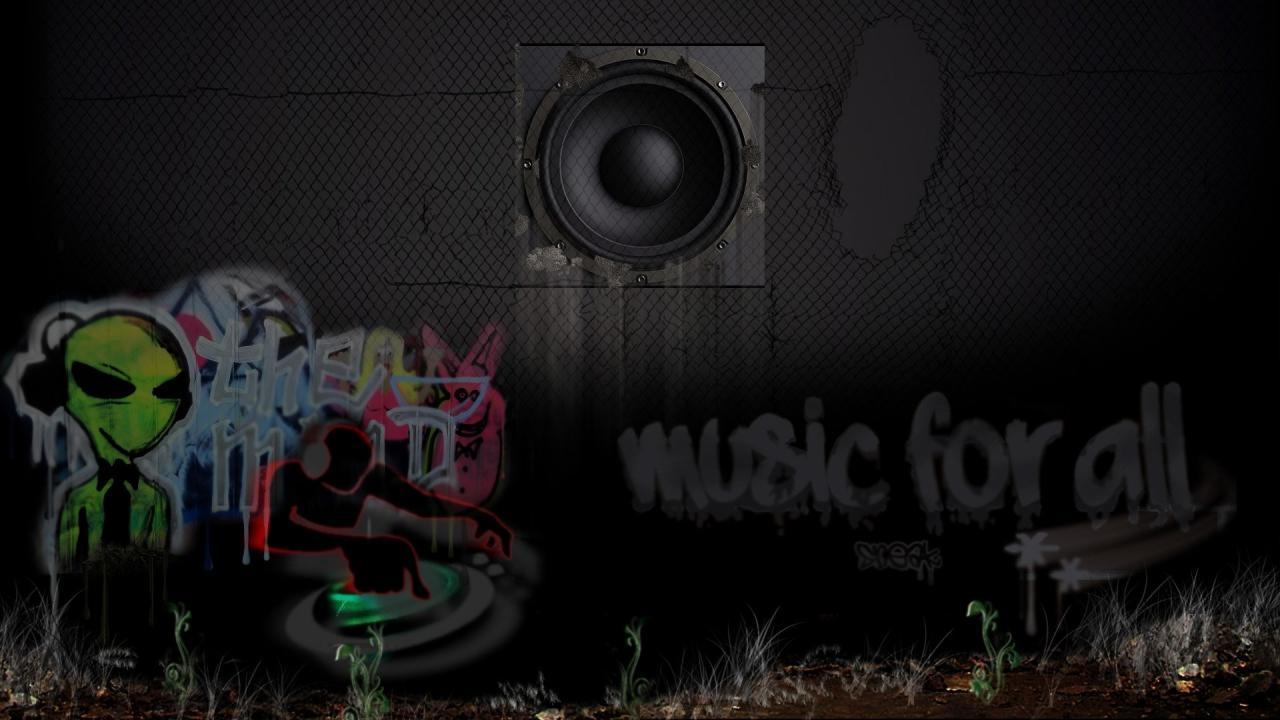 1920x1080 Graffiti Music