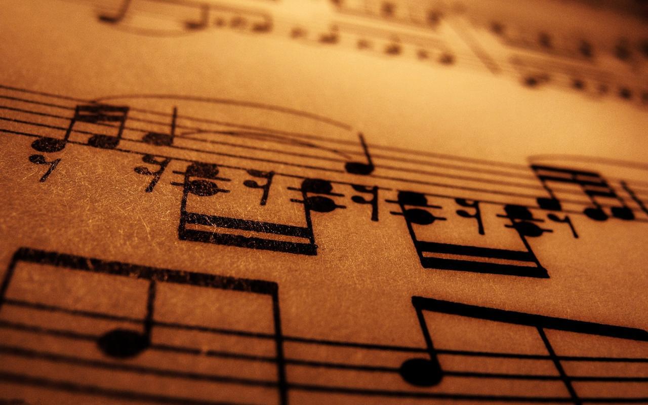 1920x1200 Musical Note HD Wallpaper