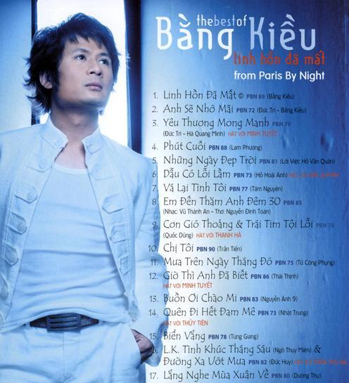 the best of Bang Kieu (2008) nhac lossless định dạng FLAC